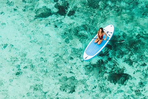 Le paddle en Corse