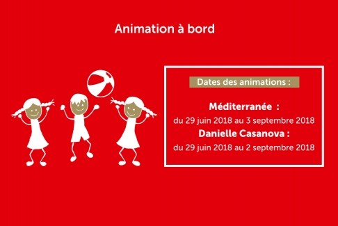 Animation sur navire