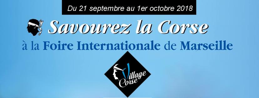 Village Corse - Foire de Marseille 2018