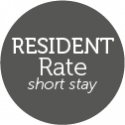 Resident rate short stay