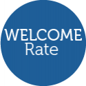 Welcome rate