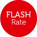 Flash rate