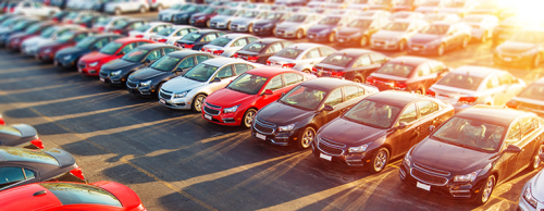 Visuel voitures en stationnement