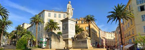Place des Palmiers Ajaccio