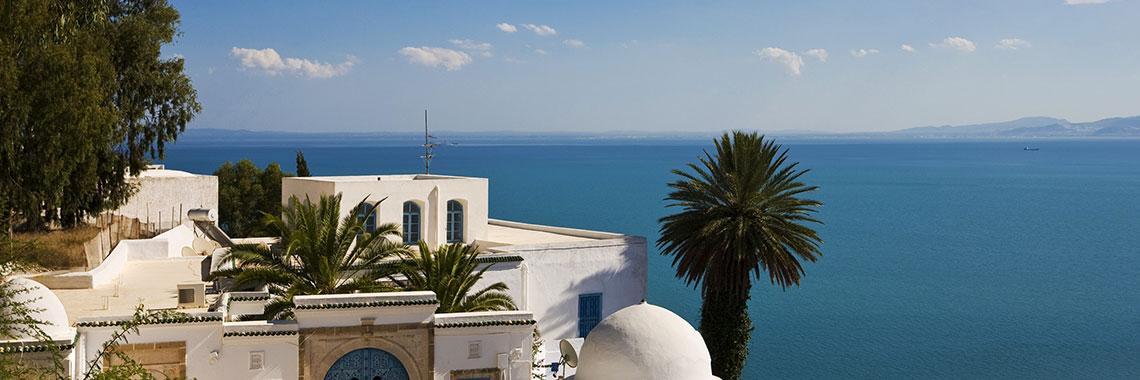 Tunisia del paesaggio