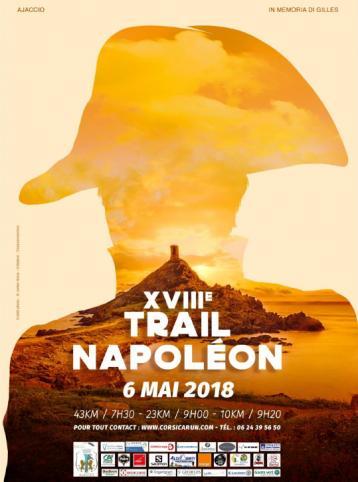 Affiche trail Napoléon